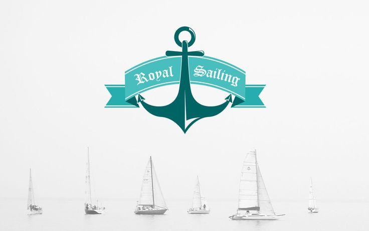 A sailing club logo design.
