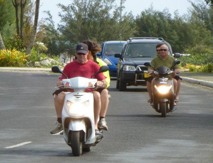 Cruising island style #rarotonga #cookislands