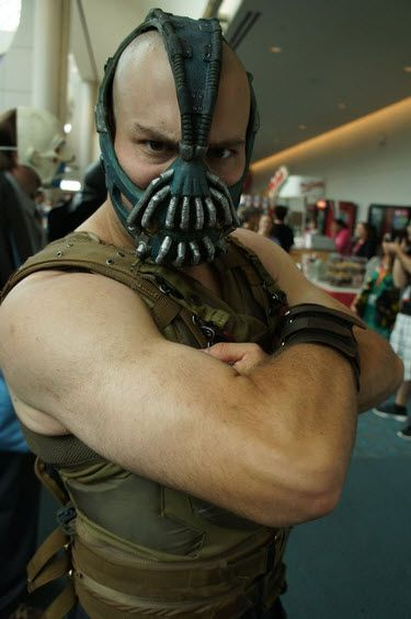 10 Epic Comic Con Costumes Complete With Accessories - http://www.gearfuse.com/10-epic-comic-con-costumes-complete-with-accessories/: Comic Con Cosplay, Cosplay Galleries, Comiccon 2012, Epic Comic, Cosplay Costumes, Comic Con Costumes, Bane Cosplay, 2012 Cosplay, Comic Con 2012