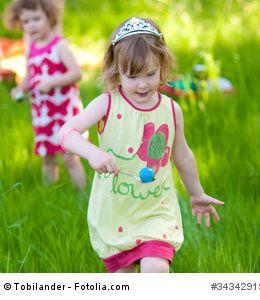 Eierlaufen für Kinder – Ein Geschicklichkeitsspiel