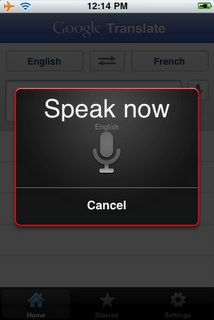 Google Tranlate App for iPhone - it's like Siri and Google translate merged!