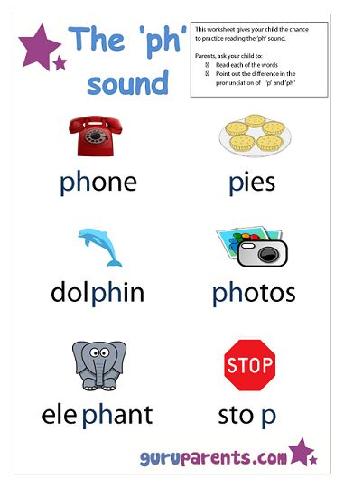 Preschool Letter Worksheet Ph Sound One In Our Range Of