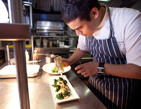 Chef Paul Ainsworth at Restaurant No 6 in Padstow  and more....