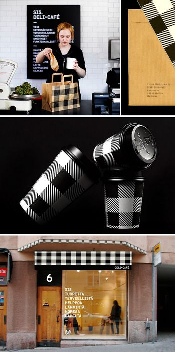 SIS deli/cafe #identity #packaging #branding PD