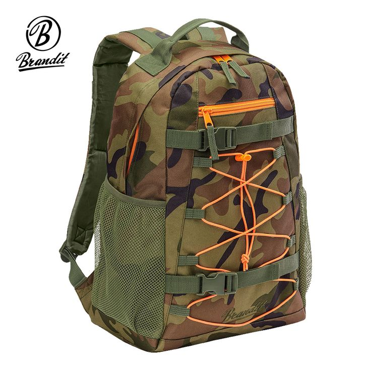 Brandit Urban Cruiser Backpack has 20 litres capacity and comes with spacious main compartment, small front pocket and two side pouches. External bungee cord web and adjustable Boardcatcher straps allow for extra attachments while padded back, adjustable waist belt and shoulder straps with chest strap offer support and comfort throughout the day. Only £26.95! Find out more at Military 1st online store. Free UK delivery and returns! Competitive overseas shipping rates.