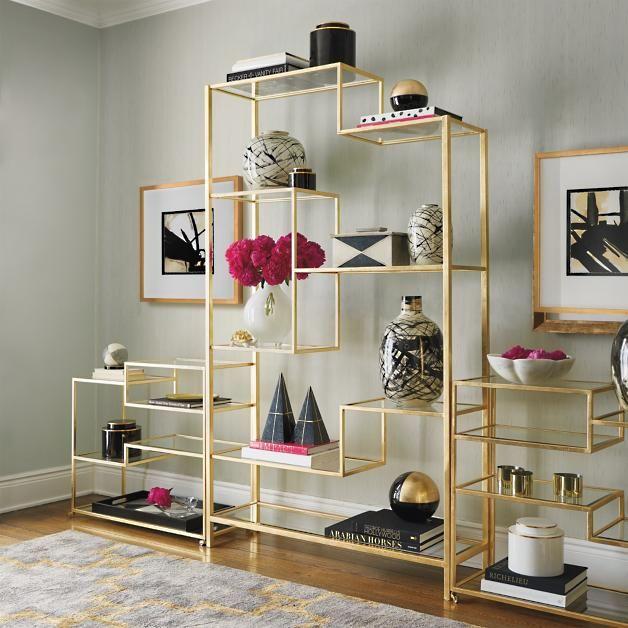 Large Camden Etagere Luxury Home Furniture Luxury Home Decor