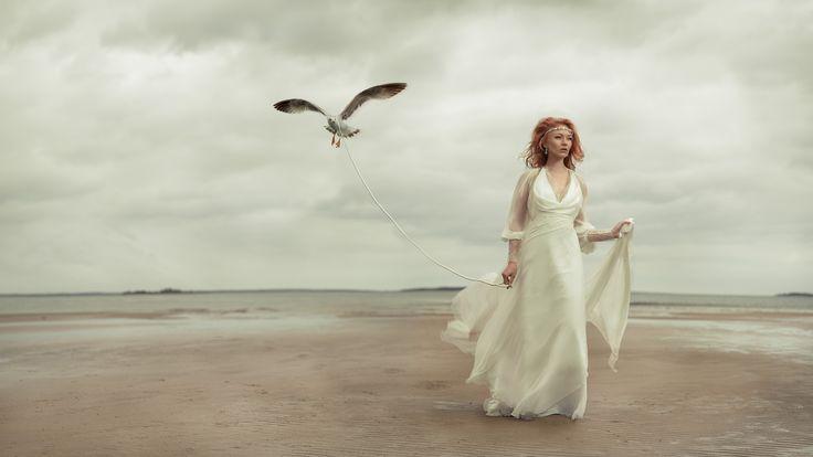 ©Lauri Laukkanen photography  Muah & Jewelry Nina/Ninka  Model Lumi Amelie Drozzin