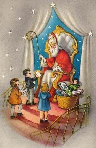 Sinterklaas en zijn Pieterbaas.........lbxxx.