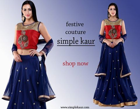 Couture is an art and a couturier can never get enough of it! We are all set for this festive season! Presenting our designer cuts in some beautiful ethnic-contemporary silhouettes and refreshing hues! give your traditional wardrobe the modern edge! Visit soon! Simple kaur SCO 481, Sector 35 C, Chandigarh. Website: www.simplekaur.com Find us on instagram: simplekaurcouture !