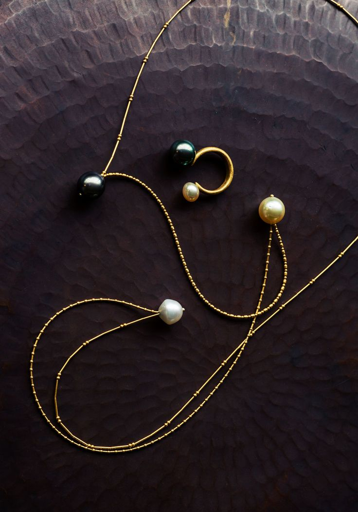 Jurgenlehl etc. [ヨーガンレール etc.]   南洋真珠のジュエリー                                                                                                                                                                                 もっと見る