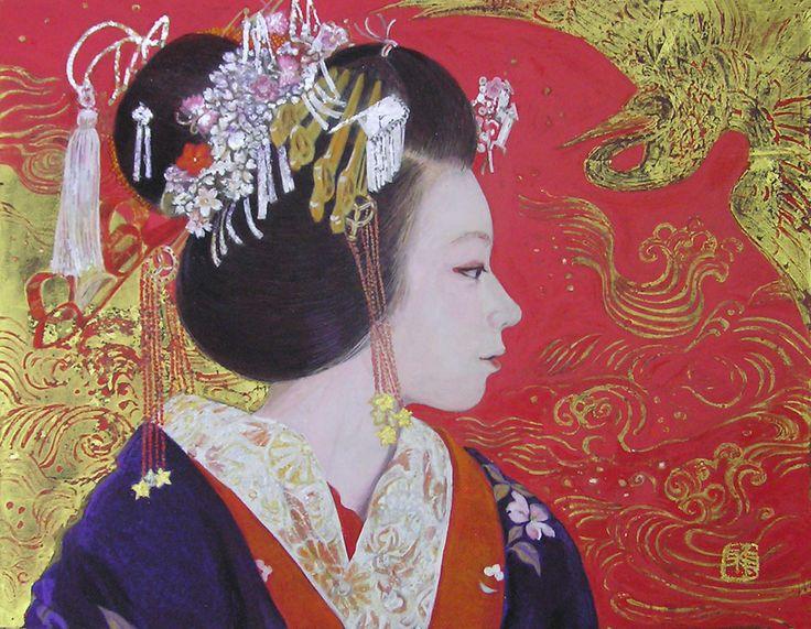 Masako Kurokawa「振り袖太夫」