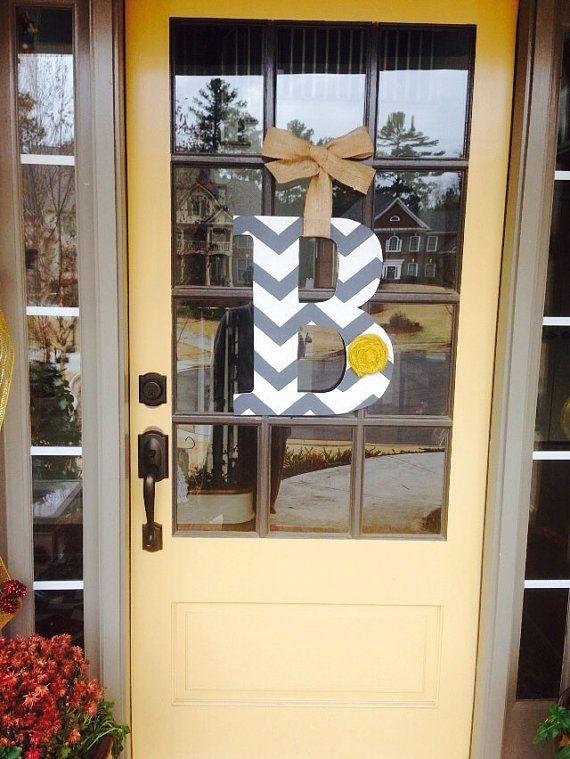 17 Best Ideas About Front Door Initial On Pinterest Door