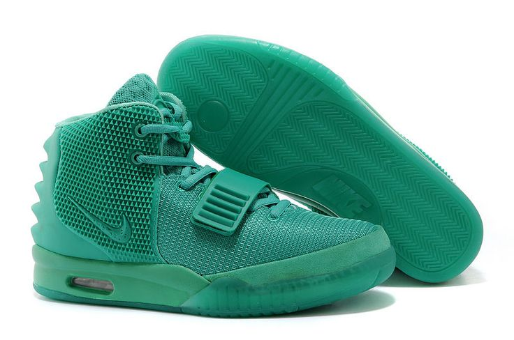 Nike Air Yeezy 2 Green Lantern  #Nike #Air #Yeezy #Shoes