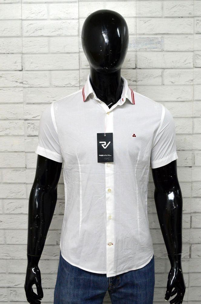 online store 262a6 7c74d Camicia PEUTEREY Uomo Taglia Size M Shirt Man Maglia Chemise ...