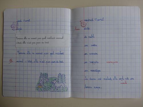 Nos cahiers d'écriture