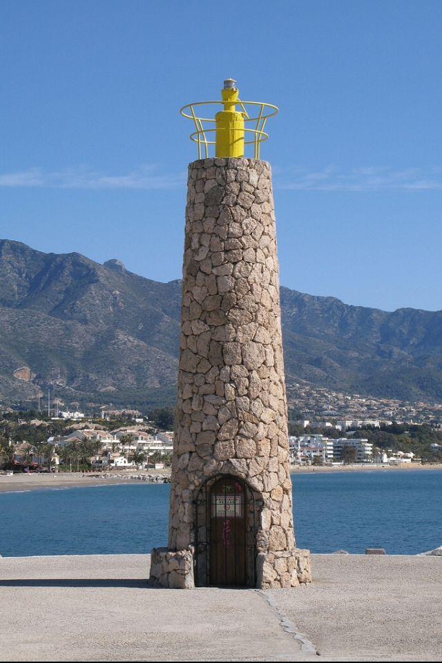 Lighthouse Puerto Banus, Nueva Adalucia, Spain