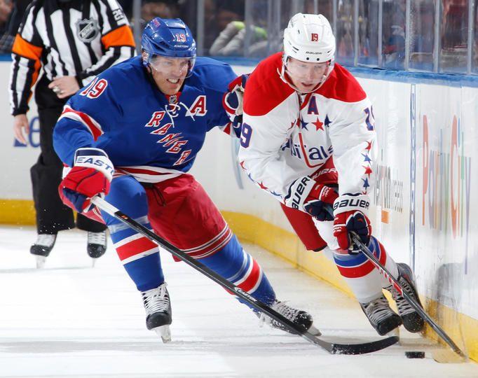 ... Jersey Brad Richards - Washington Capitals at New York Rangers -  01192014 ... 45d6ee436
