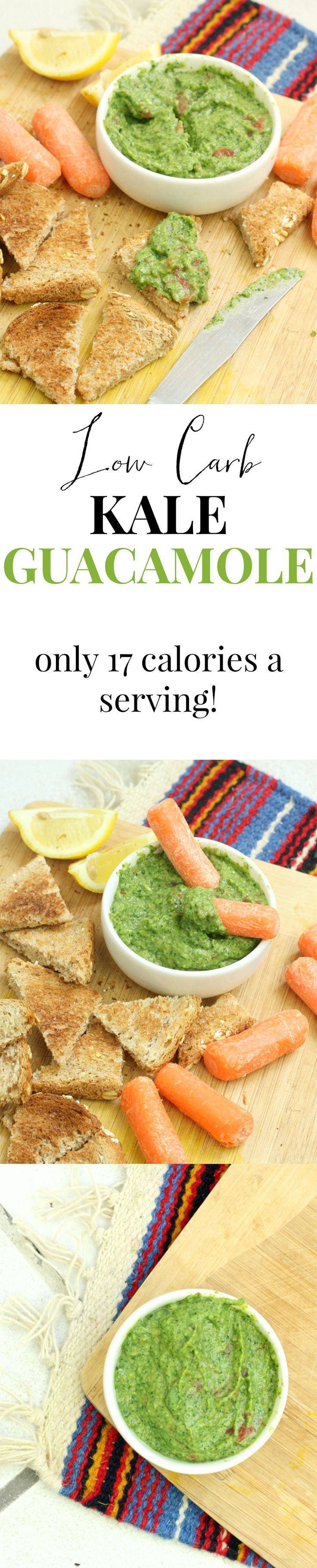 Guacamole with half the calories! I ate the entire recipe in one sitting. It's that good. What is the secret ingredient? (hint: it's not peas!)