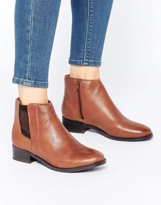 Shop New Look Leather Ankle Boots at ASOS.