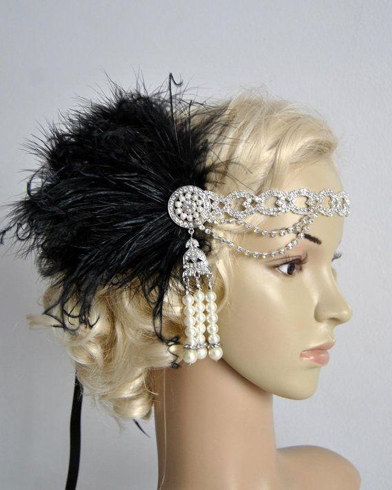 De grote Gatsby 20 Strass parels flapper door BlueSkyHorizons