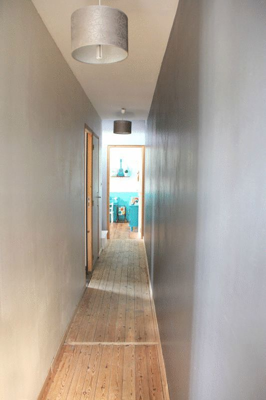 178 best Couloir images on Pinterest - idee couleur couloir entree