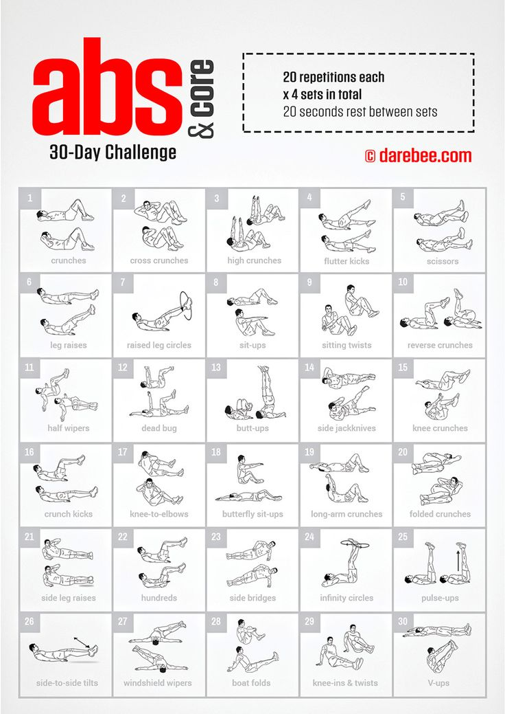 25 best ideas about 30 day workouts on pinterest 30 day fitness challenge 30 challenge and. Black Bedroom Furniture Sets. Home Design Ideas