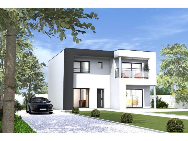 Maison Toit Plat Baies Vitrees : Maison toit plat baies vitrees design de et intérieur