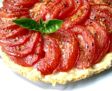 Tomato Tarte Tatin | Savory Pies and Tarts | Pinterest