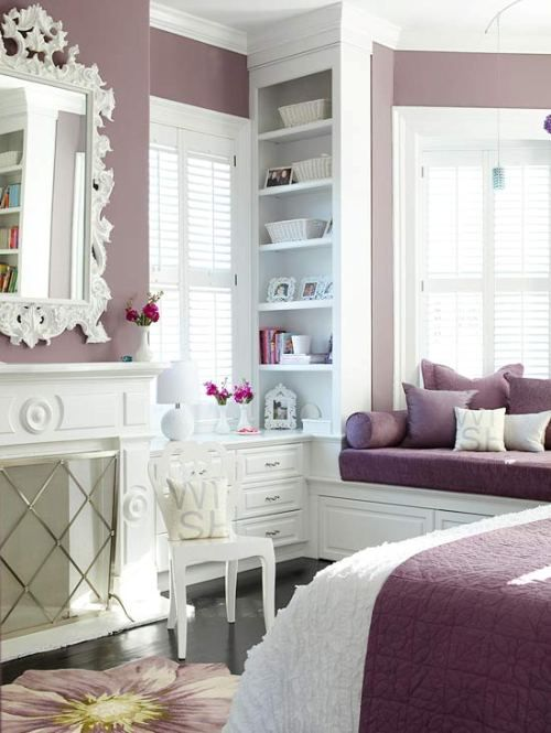 Like The Dusty Rose Color. Spring Decor