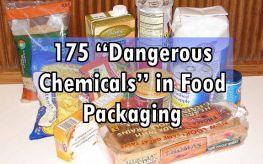 "175 ""Dangerous Chemicals"" in Food Packaging Materials"