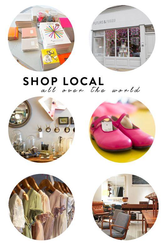 shopikon free app / shop local, but in paris, london, san francisco, new york....