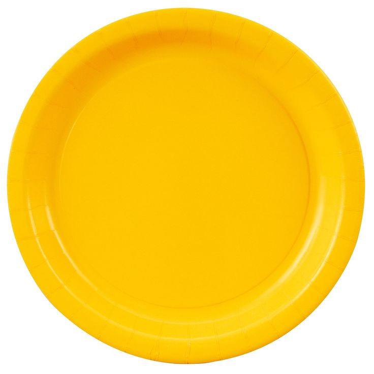 School Bus Yellow (Yellow) Dinner Plates, 72791