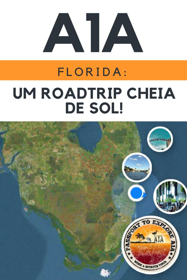 A1A Florida - a roadtrip with never ending beaches! Visit Miami, the Keys, Amelia Island, Boca Raton and several other places on the way