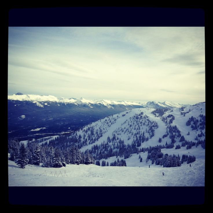 View from the top!  #Skimarmot