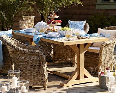 summer table william sonoma - 64 Best Outdoor Furniture And Accessories Images On Pinterest Lawn