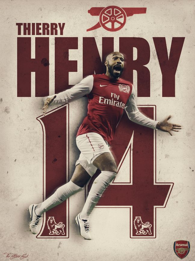 thierry henry arsenal wallpaper hd
