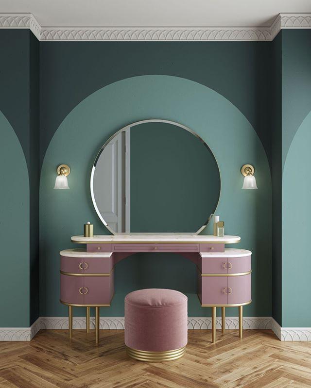 Devon&Devon presents Zelda, a vanity table inspired by the unconventional femini…