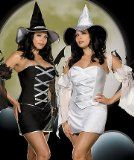 #!! Cheap Halloween costume  sales: Dreamgirl Women's Reversible Witch Costume available in PLUS, Black/White, 1X/2X Large - http://halloweencostumeideashere.com/cheap-halloween-costume-sales-dreamgirl-womens-reversible-witch-costume-available-in-plus-blackwhite-1x2x-large/