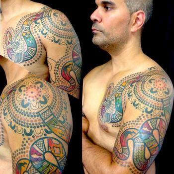 aboriginal tattoo sleeve - Google Search