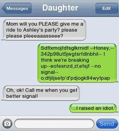 texts gone wrong with parents - Google Search