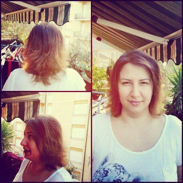 #shatush. new hair for clara.