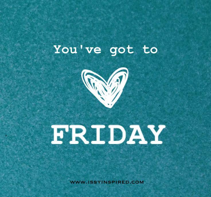 almost weekend!