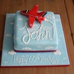 Red Arrow 60th Birthday Cake