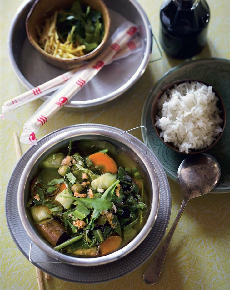 Shan medicinal vegetable soup by Luke Nguyen from Luke Nguyen's Greater Mekong | Cooked