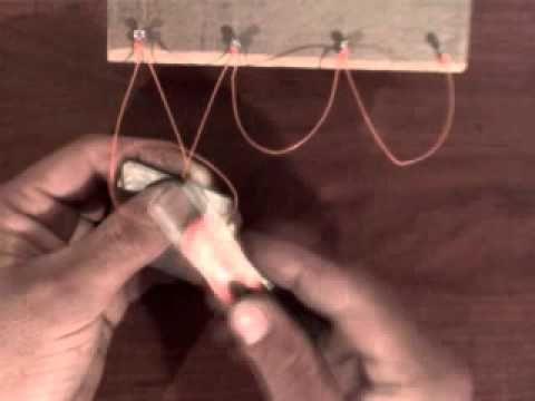 tejer redes de pesca