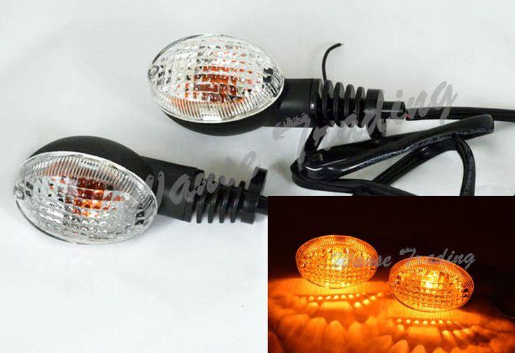 [Visit to Buy] Left & Right Front Rear Turn Signals Blinker Indicator Bulb Light Lamp For Kawasaki Ninja 250R 2008 2009 2010 2011 2012 #Advertisement