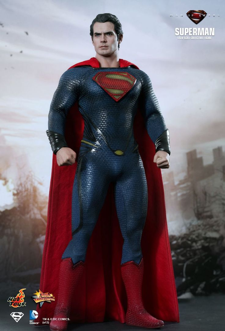 Hot Toys : Man of Steel - Henry Cavill as Superman 1/6th scale collectible figure