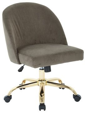 Layton Mid Back Office Chair contemporary-office-chairs