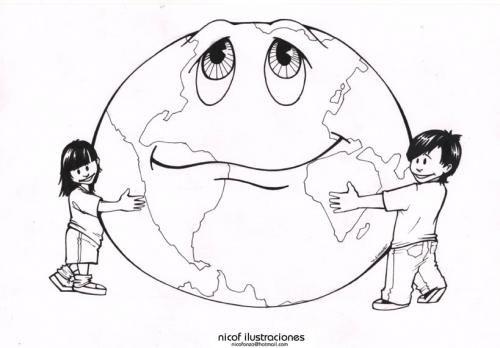 El planeta es nuestro y hay que conservarlo.