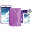 Fosmon  Samsung Galaxy Note 8.0 S-Series Silicone (TPU) Case with 3 BONUS Screen Protectors